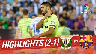 Download Video Resumen de CD Leganés vs FC Barcelona (2-1) MP3 3GP MP4
