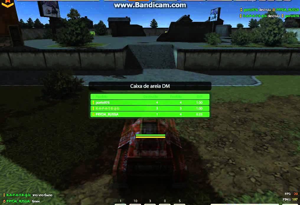 танки онлайн бразильский сервер званка