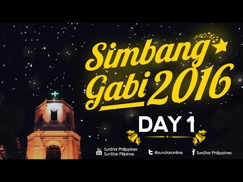 Watch: Simbang Gabi Day #01 December 16, 2016