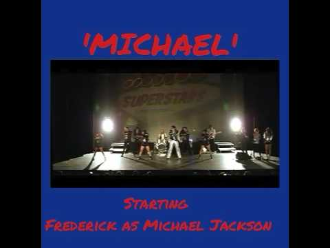 MICHAEL 'Frederick as Michael Jackson