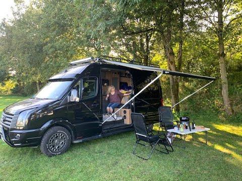 VW Crafter Campervan Set Up.