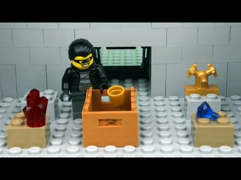 LEGO City Museum Robbery - Lego Brick film (HD)