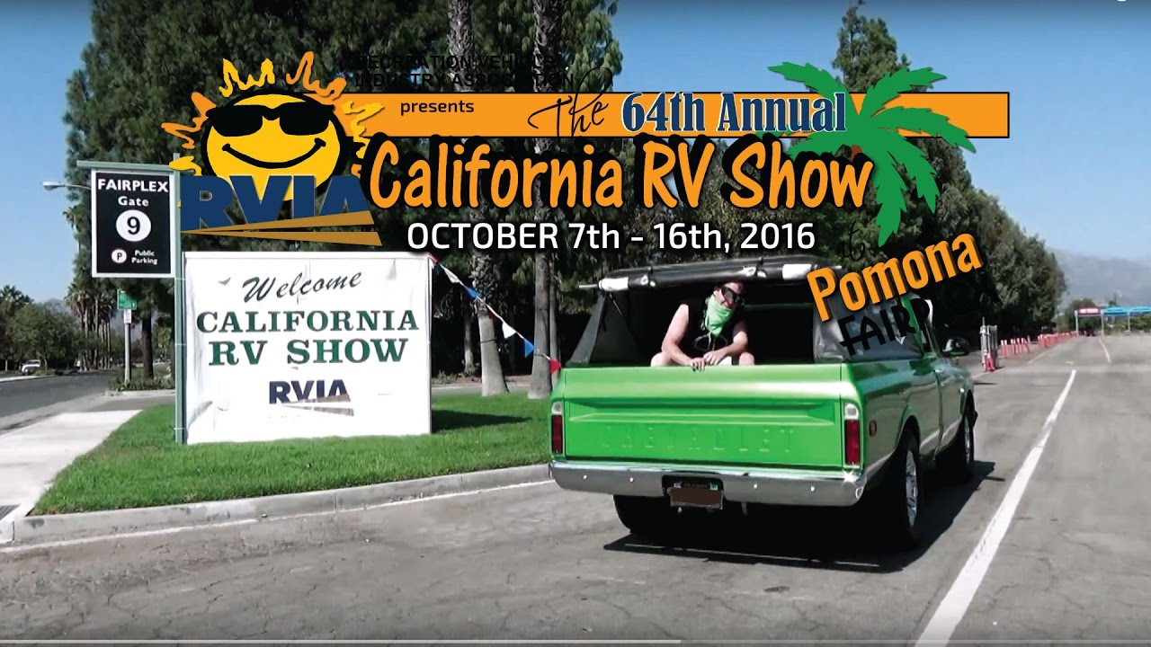 California Rv Show >> Everyone Is Arriving To The California Rv Show At Pomona Fairplex