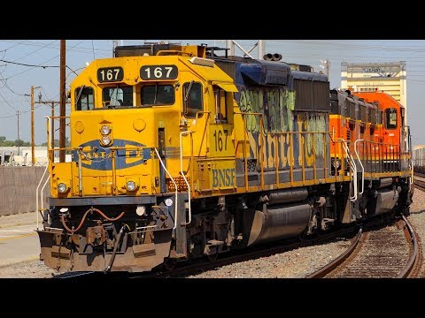 [HD] Commerce BNSF Action (Warbonnets)