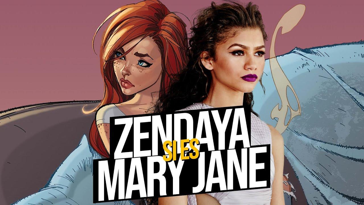 Zendaya es MARY JANE WATSON en el MCU