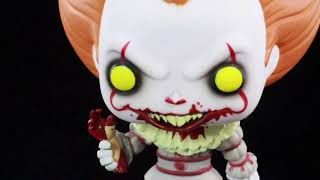 Funko Pop Amazon exclusive It Movie 2017 Pennywise the clown with severed arm review