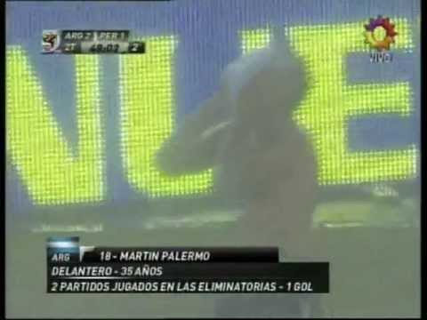 Martin Palermo y su vida de Pelicula
