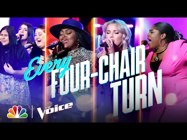 Every Four-Chair Turn from Season 19 - The Voice 2020
