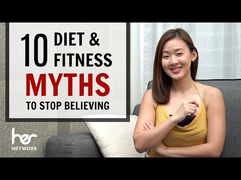 Top 10 Diet & Fitness MYTHS to Stop Believing | Joanna Soh