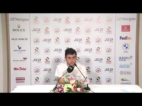 Aslan Karatsev - Semi-final Press Conference ATP - 2021 Dubai Duty Free Tennis Championships