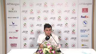 Aslan Karatsev - Semi-final Press Conference ATP - 2021 Dubai Duty Free Tennis Championships