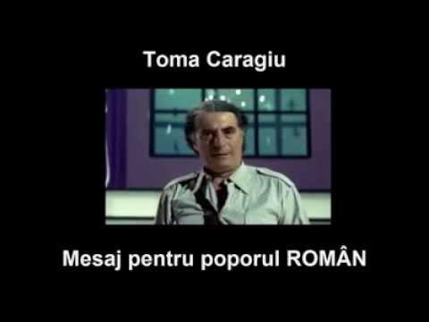 Toma Caragiu - Mesaj pentru politicieni ?i poporul român