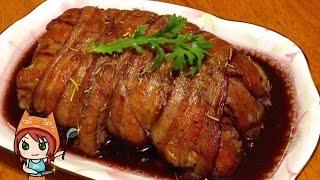 """【超還原】食戟之靈料理01山寨脆皮烤肉Shokugeki no Soma 01""""gotcha"""" pork roast"""