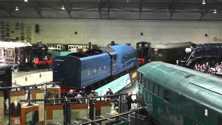Mallard 75 - The Great Gathering of The Remaining LNER A4 Pacifics - NRM York - 3rd July 2013