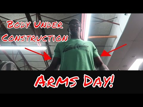 Body Under Construction: Arms Day