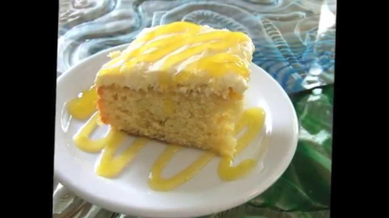 Make Hawaiian Pineapple Poke Cake