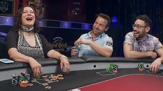 Jen Tilly BATTLES The Sharks! | Poker Night in America - S5 E11