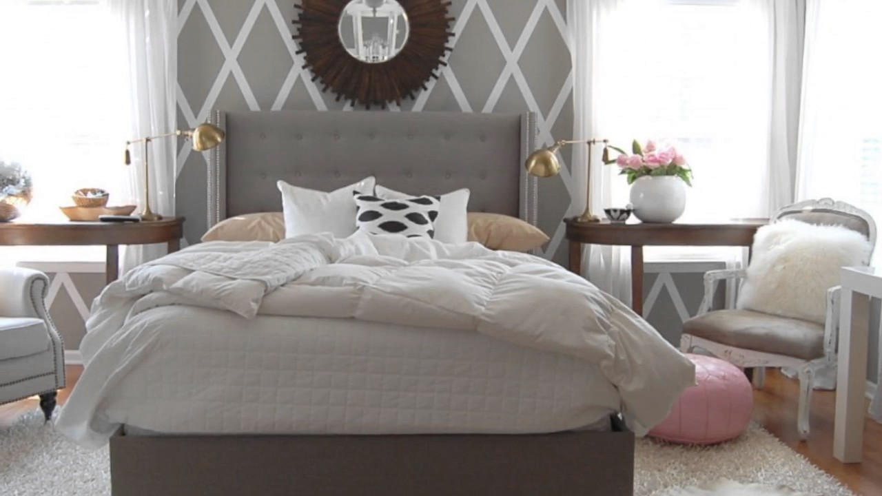 light grey wooden bedroom furniture ideas - youtube