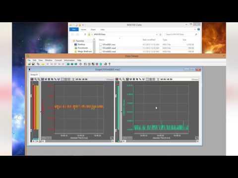 Yokogawa DAQMaster MW100 Data Viewer Software Tutorial