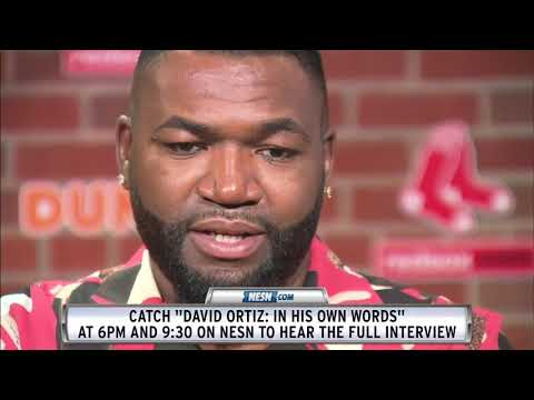 Ashlee - David Ortiz Shares Details From The Night Of His Shooting