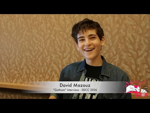 "David Mazouz ""Gotham"" SDCC 2016 Interview 
