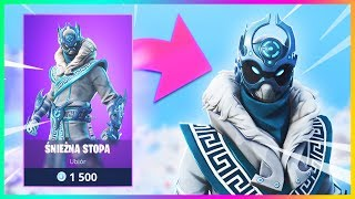 New SNOW NINJA Skin in Fortnite