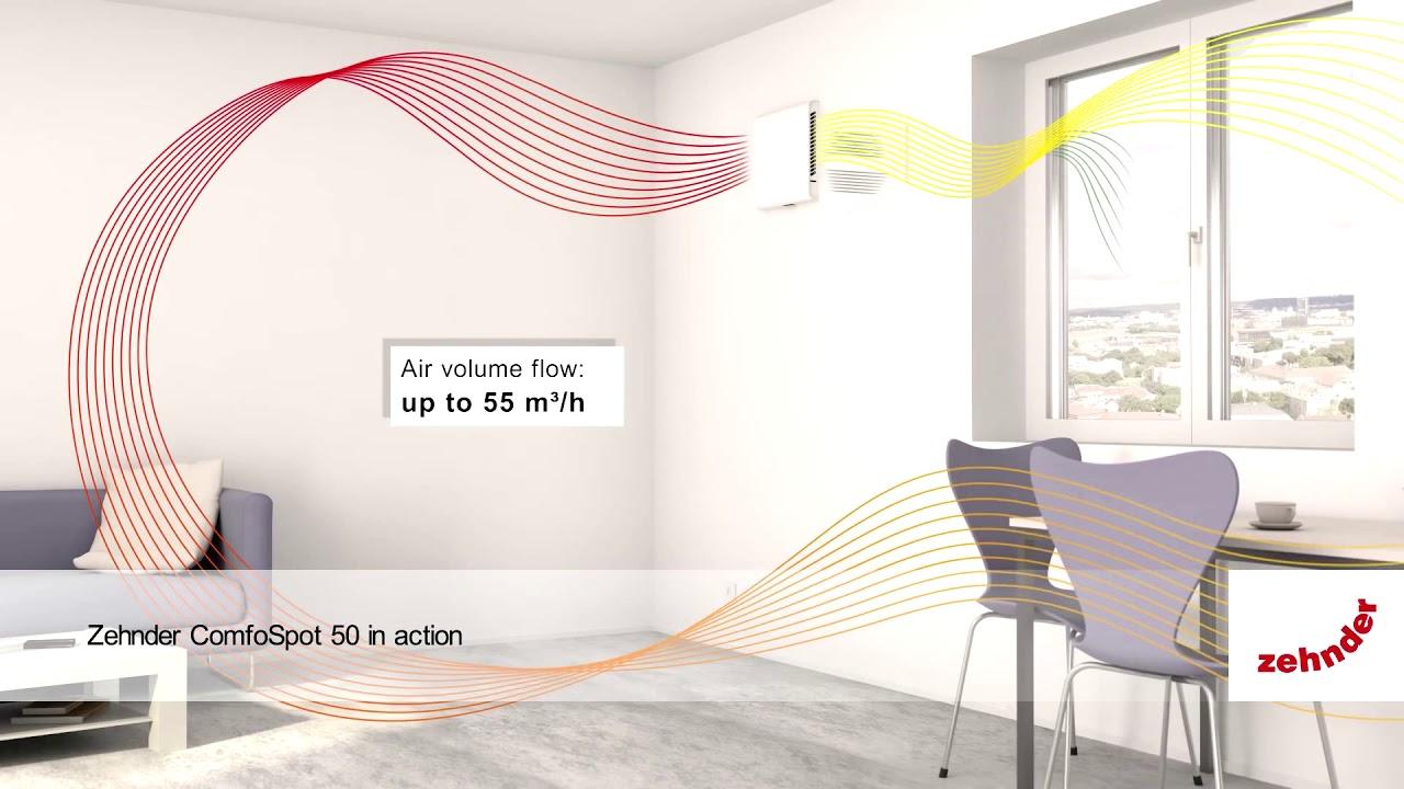 Como quitar humedades de condensación con un ventilador con recuperador