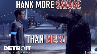 HANK MORE SAVAGE THAN ME!? ( HILARIOUS