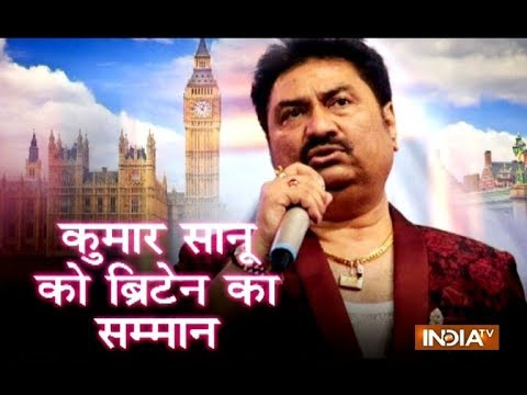 Kumar Sanu on being honoured at UK Houses of Parliament: It'