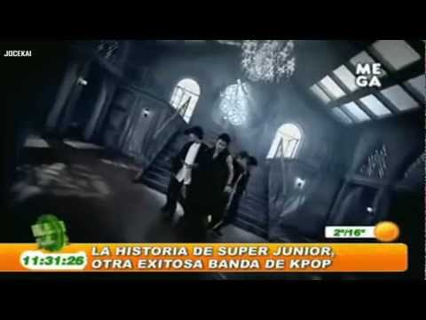 SUPER JUNIOR reportaje en TV de Chile (Mega) 'La historia de la banda de Kpop Super Junior' Videos De Viajes