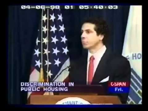 1998: Sec. Andrew Cuomo Defends Affirmative Action Mortgage Policy
