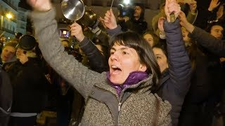 """In Spain, Women Launch Nationwide Feminist Strike Protesting """"Alliance of Patriarchy & Capitalism"""""""