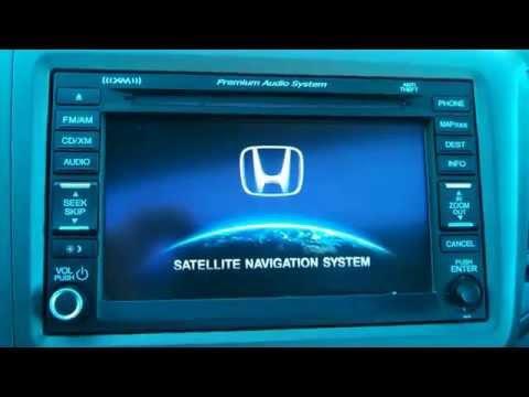 12-14 Honda Civic & CRV Navigation Reset, Clear Navi, Delete GPS info