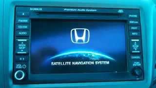 Navigation Reset, Clear Navi, Delete GPS info on 12-14 Honda Civic and CRV