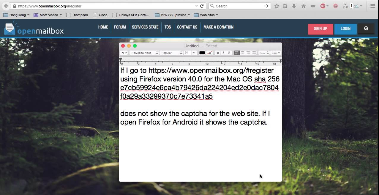 openmailbox org no captcha for Firefox 40 0