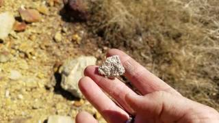 Did I find a kimberlite pipe on my Amador county California property?