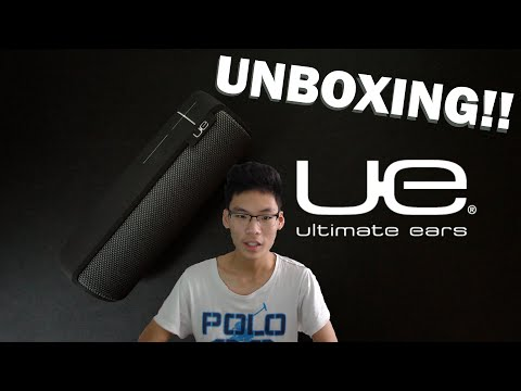 Ultimate Ears MEGABOOM: Holiday Edition Bluetooth Speaker Unboxing + Sound Test!
