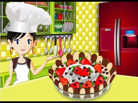 Mouse Choco Cake Juegos de cocinar con Sara  YouTube
