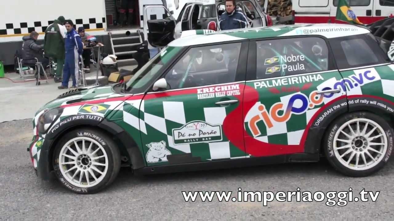 Mini Cooper Motorsport Italia test pre Rally Montecarlo 2012 - YouTube