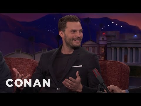 "Jamie Dornan On His ""Golden Torso"" Nickname   CONAN on TBS"