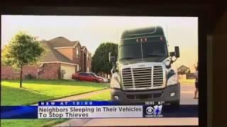 Man sleeps in truck to catch car thieves CBS11