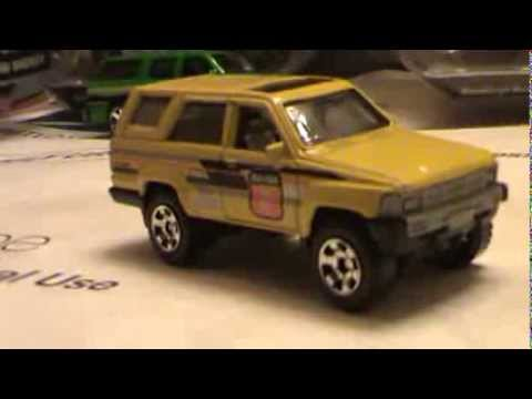 review 1985 toyota 4runner mbx park yellow matchbox youtube. Black Bedroom Furniture Sets. Home Design Ideas