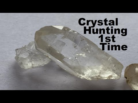 Crystal Hunting MY 1ST TIME Epic Finds In Pennsylvania
