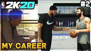 NBA 2K20 My Career - Back Home in Chicago! 1v1 vs Anthony Davis! (EP 2)