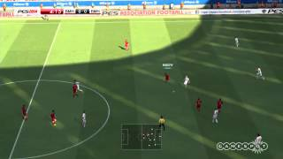 PES 2014 - FIRST GAMEPLAY 1ST HALF HD