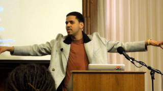 """The Next Move: A Conversation with J. Cole"" at Harvard 