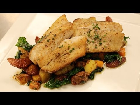 Rockfish Dish Recipe With Edwards Sausage