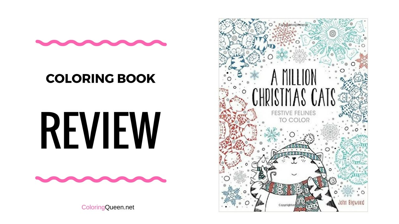A Million Christmas Cats Coloring Book Review