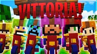 UNA VITTORIA INASPETTATA! - Minecraft ITA SUPER MARIO CRAFT w/ Eren Dlarzz Tear Tano Tech