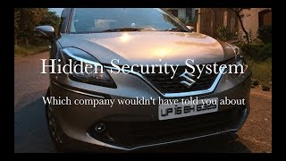 Ultra Hidden Security System in Baleno    Ignis    Ciaz    S-Cross    New Dzire